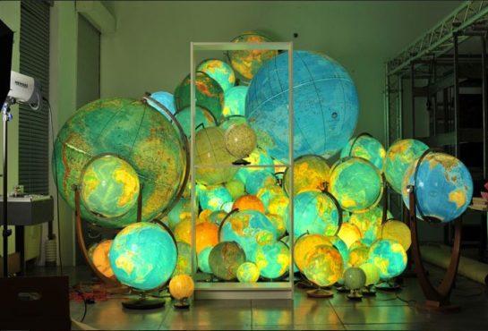 Columbus Globes Illuminated