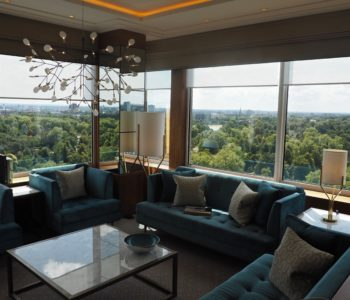 Panoramic views from the Royal Suite at Royal Lancaster London
