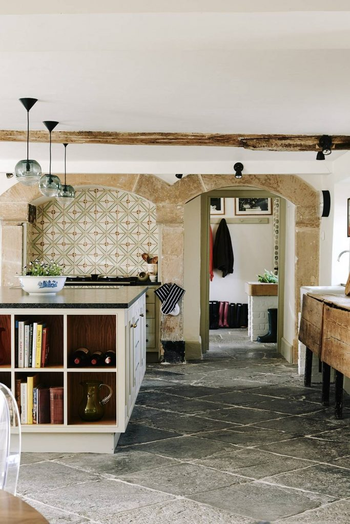 Rustic Kitchen Library