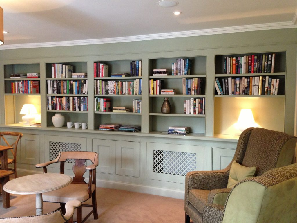 library in norfolk with curated books