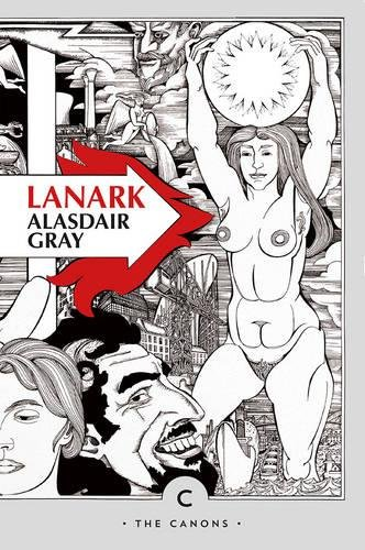Lanark by Alisdair Gray book