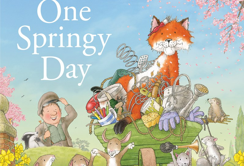 One Springy Day children's book by author nick butterworth