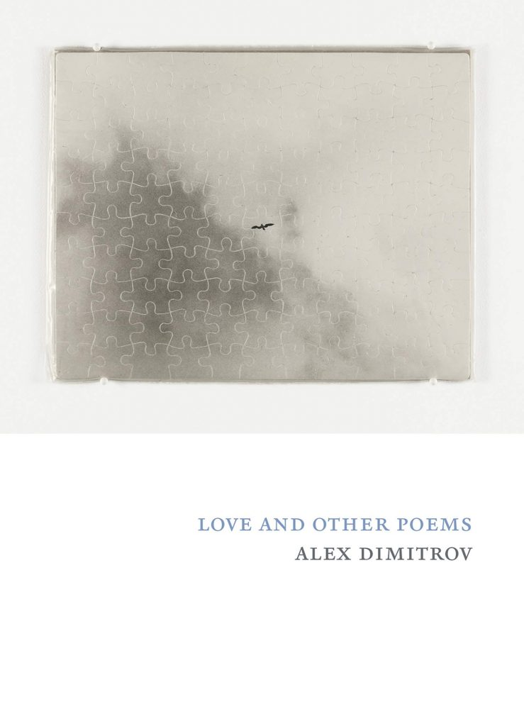 The cover of Love and Other Poems featuring an image of a jigsaw puzzle.