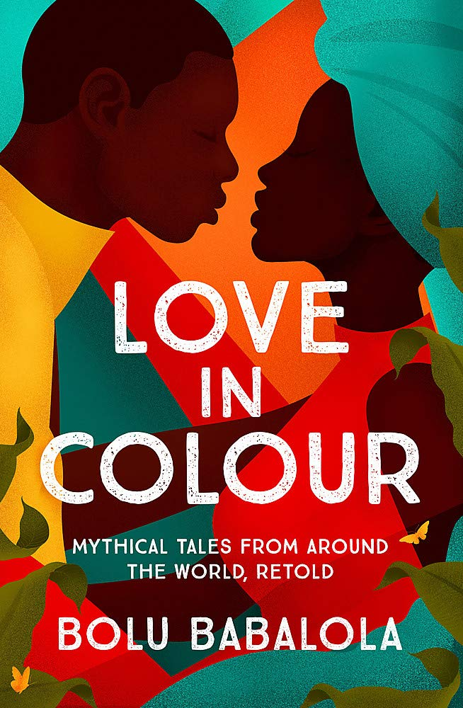 The cover of Love in Colour featuring two cartoon black people about to kiss