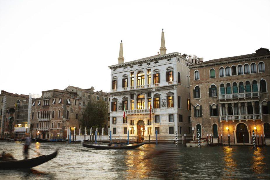 A photograph of the exterior of Aman Venice.